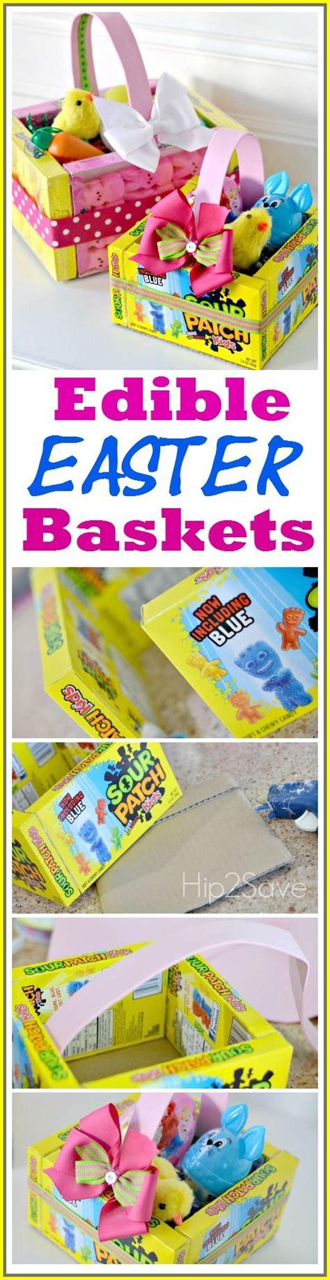 edible easter baskets easy easter craft hip2save edible easter baskets easy easter craft creative