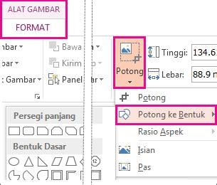 mengubah format gambar jpg ke png memotong gambar agar pas dengan bentuk dukungan office