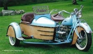 motorcycle sidecar 1941 indian 4 cycle with sidecar william eggers motorcycles
