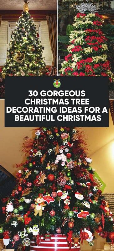 30 gorgeous christmas tree decorating ideas you should try
