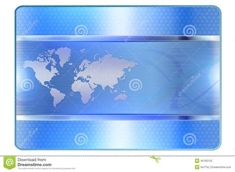 card background templates blue credit card template stock illustration image of