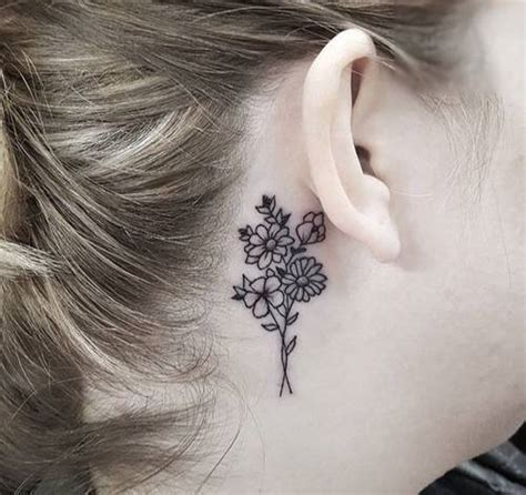tattoo lettering behind the ear 20 beautiful behind the ear tattoo ideas cafemom
