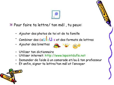 Lettre De Présentation En Anglais Pour Un Correspondant Lettre1