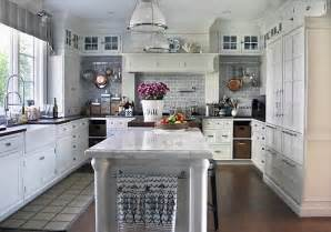 Accent Color For White And Gray Kitchen by Sagaponak Kitchen 1 Flickr Photo Sharing