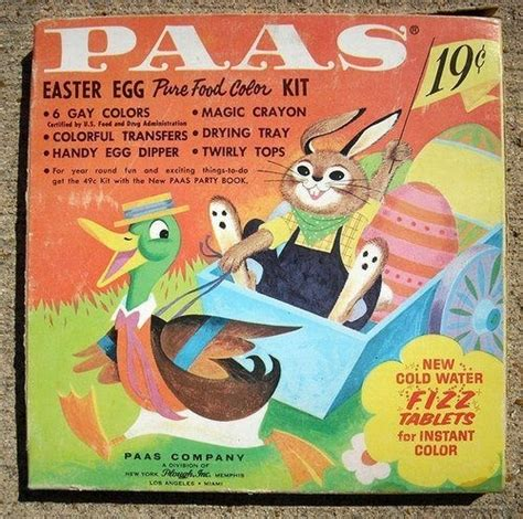 paas easter egg dye vintage paas easter egg dye kit here comes cottontail pinte