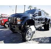 SEMA 2008  Custom Truck Show Diesel Trucks 8 Lug Magazine