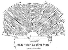 Grand Ole Opry Floor Plan by Ryman Auditorium Seating Chart Seat Numbers Quotes