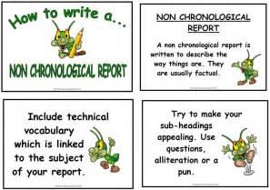 Non Chronological Report Template non chronological report template ebook database