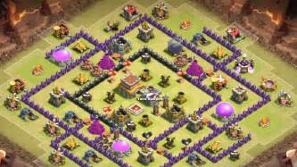 clash of clan 8 town hall war base clash of clans town hall 8 war base images