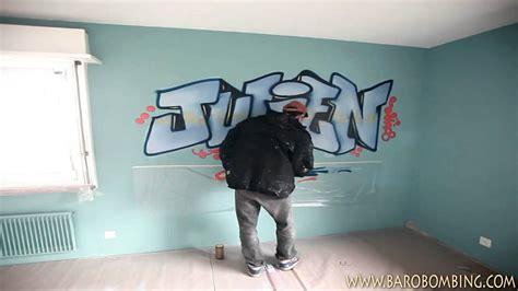 graffeurch prenom graffiti au spray pour chambre