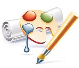 School education vector icons mirror
