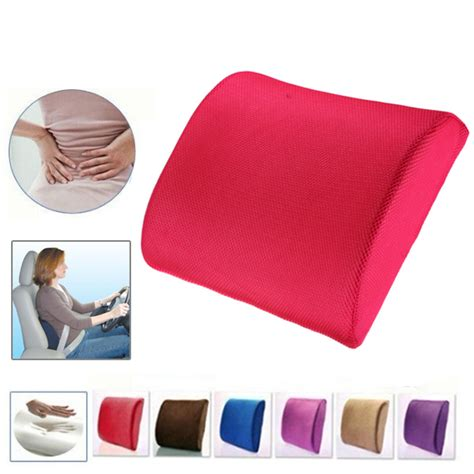 back support cushion for chair malaysia memory foam lumbar back support cushion pillow for office