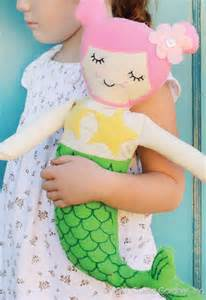 Rini doll and mermaid sewing pattern