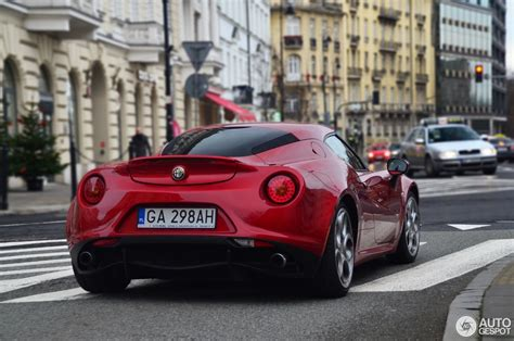 Alfa Romeo 4 by Alfa Romeo 4c 31 December 2017 Autogespot