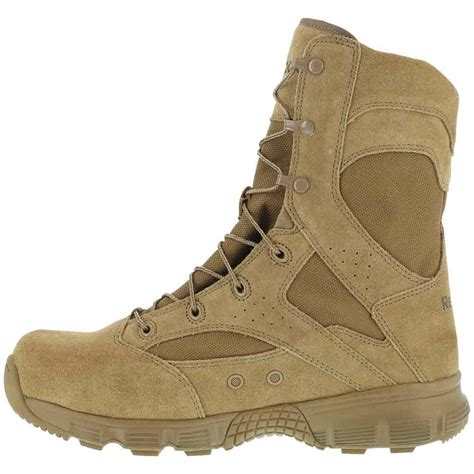 coyote boots reebok dauntless 8 inch coyote brown duty boot rb8822