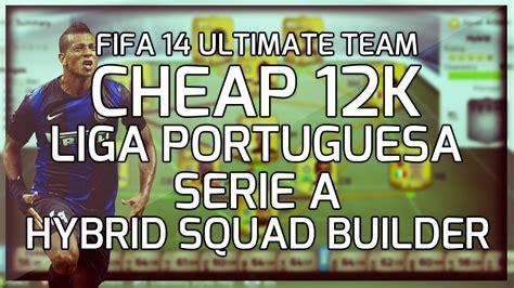 fifa 14 ultimate team 35k squad builder serie a fifa 14