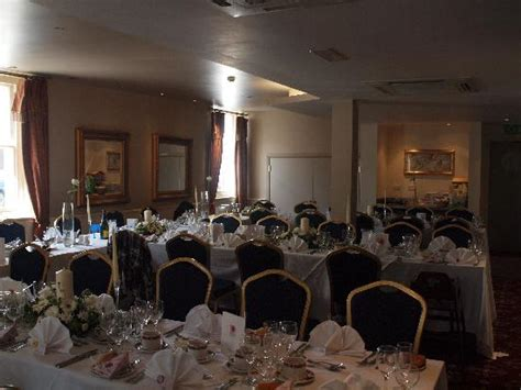 wedding breakfast layout old and disgusting picture of angel hotel leamington