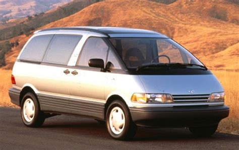 toyota previa 1993 toyota previa information and photos zombiedrive