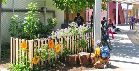 Garden Ideas For Schools Asla 2012 Professional Awards Asphalt To Ecosystems Design Ideas For Schoolyard Transformation