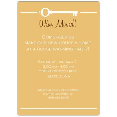 house invitation templates key house warming invitations paperstyle