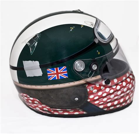 jlf design helmet get your lid sprayed by lewis hamilton s man mcn