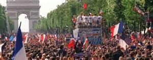 coupe du monde 1998 souvenirs 171 on ne voyait m 234 me pas la