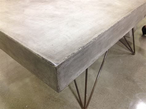 modern concrete dining table mecox gardens
