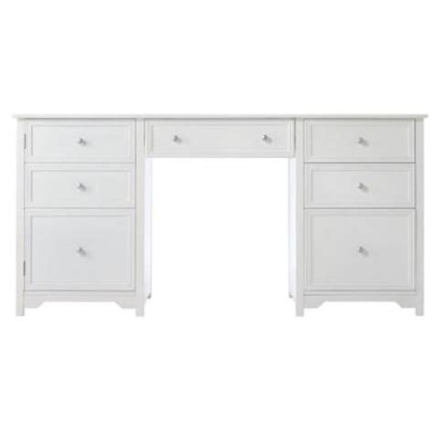 white executive desks home decorators collection oxford 1 door with 4 drawer