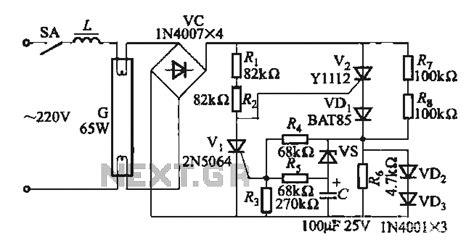 circuit diagram of electronic choke pics for gt 40w electronic ballast circuit diagram