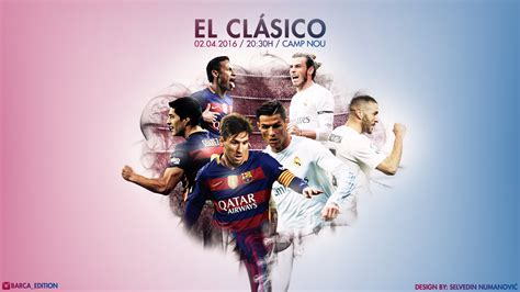 wallpaper barcelona menghina real madrid fc barcelona real madrid cf 2016 hd wallpaper by