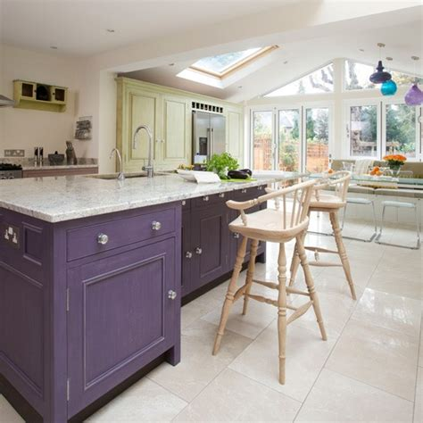 colourful spacious kitchen open plan kitchn ideas