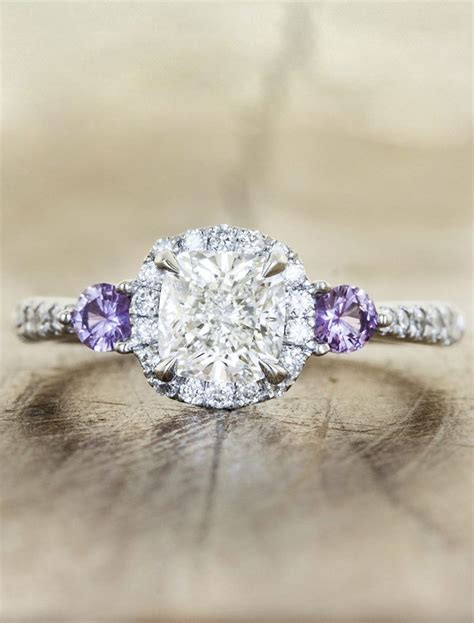 I Am Purple And I Am Beautiful by 25 Best Ideas About Side Engagement Rings On
