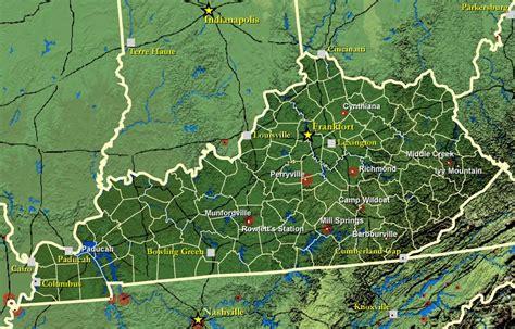 kentucky map civil war kentucky civil war history battles casualties army
