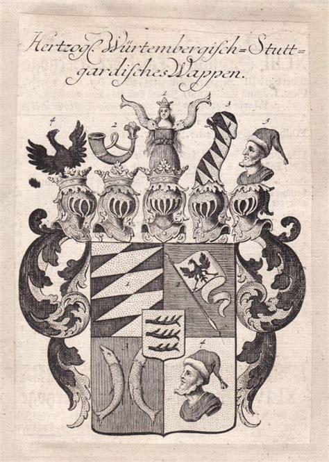 stuttgart coat of arms 1820 helffreich w 252 rttemberg wappen adel coat of arms