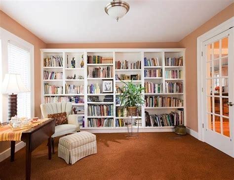 Building A Small Home Library Parete Attrezzata In Cartongesso Pareti Attrezzate