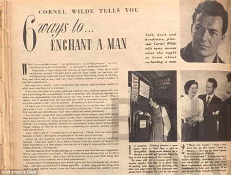 1950s grooming guide for women be thoughtful keep up with the news and never take his