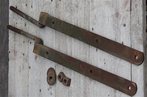 Used Barn Door Hardware For Sale Antique Iron Hinges Pair Of Heavy Farm Gate Hinges Barn Door Hardware