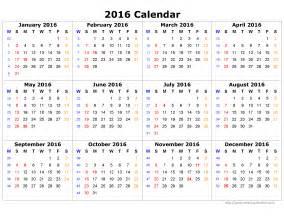 calendar yearly template yearly calendar 2016 template calendar template 2016