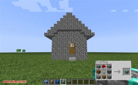 Minecraft Instant House Mod by Insta House Mod 1 7 10 Instant Structures 9minecraft Net