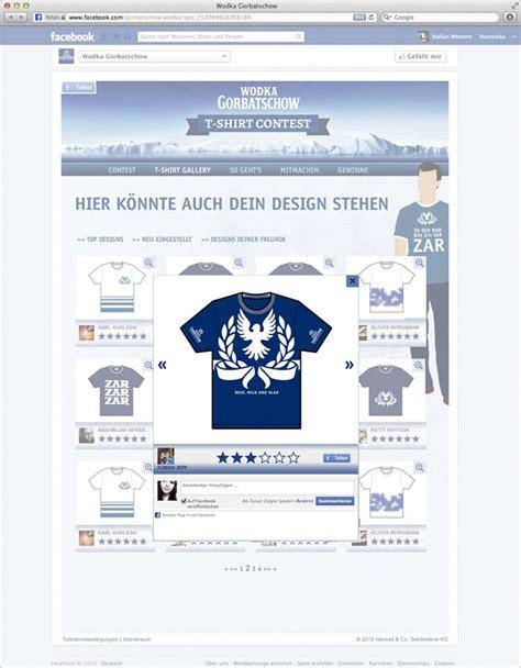 T Shirt Giveaway On Facebook - artus interactive wodka gorbatschow facebook app quot t shirt contest quot