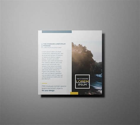 pinterest layout psd free psd square flyer mockups template free psd files
