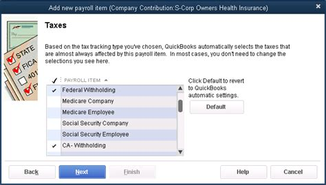 What Reports From Quickbooks Are Needed For Taxes by Quickbooks Payroll How To Adjust W 2s To Report Shareholder Health Insurance Accountex Report