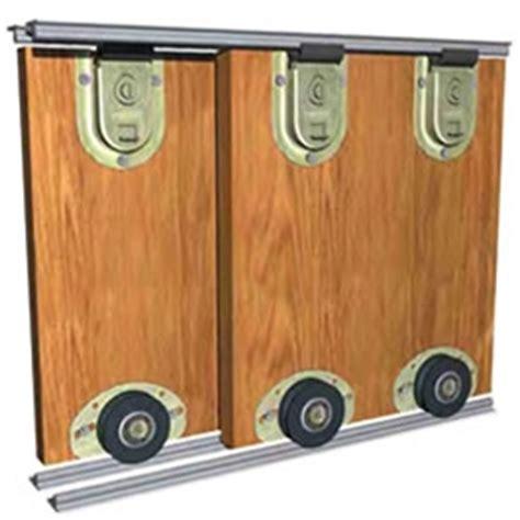 Rolling Closet Door Hardware Saheco Sf 51 Bottom Rolling Wardrobe Kit Sliding Doorstuff
