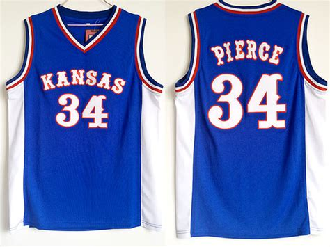Jersey World Mens Club Blue buy ncaa 34 paul kansas jayhawks college basketball