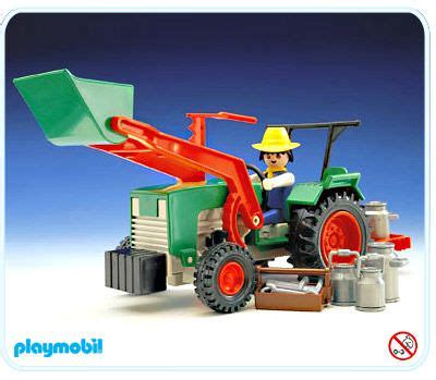 Playmobil Tractor playmobil set 3500 tractor klickypedia