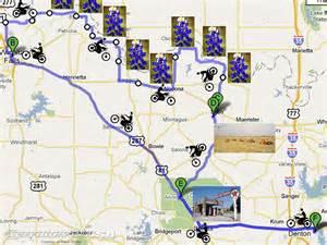 bluebonnet trail map 2010 bluebonnet ride fan report motorcycle usa