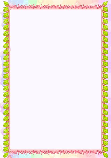 free printable stationary borders joy studio design