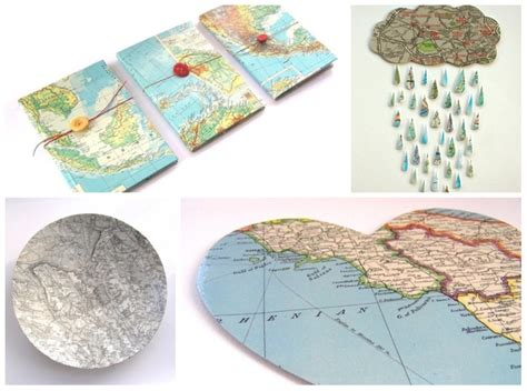 Map Decoupage - 17 best images about funky maps on decoupage