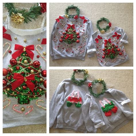images of christmas hers matching his hers ugly sweaters holidays pinterest