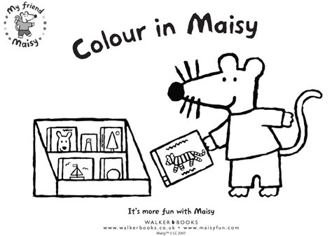 maisy the mouse coloring pages colour in maisy scholastic kids club